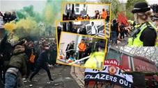 Toàn cảnh cuộc biểu tình dữ dội khiến trận MU vs Liverpool bị hoãn