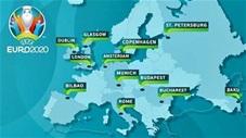 EURO 2020 sẽ được tổ chức ở những thành phố nào?
