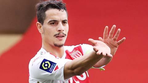 Monaco: Ben Yedder cán mốc 100 bàn thắng