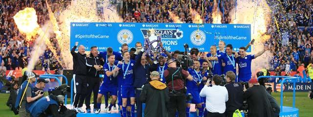 Leicester vô địch Premier League 2015/16 khi nhà cái chào tỷ lệ đặt 1 ăn… 5.000