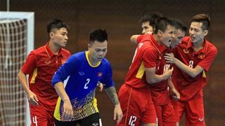 ĐT futsal Việt Nam tập trung: Thái Sơn Nam chiếm đa số