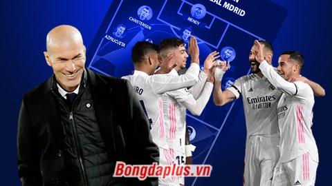 Đội hình dự kiến Chelsea vs Real: Chờ tài xoay sở của Zidane