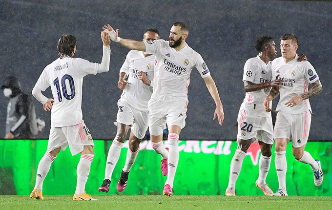Benzema vẫn là chủ công của Real ở trận tái đấu Chelsea