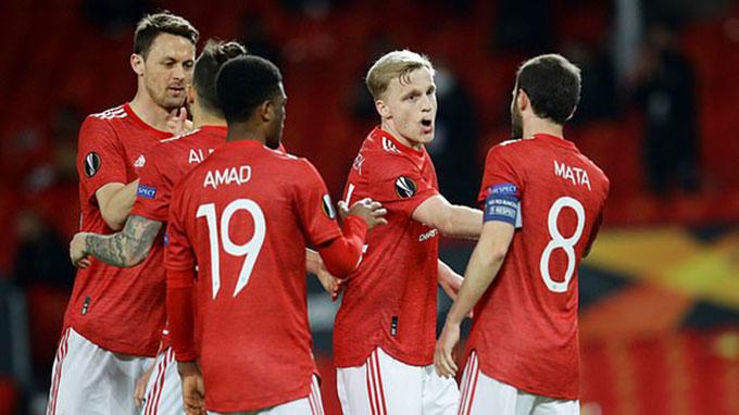 Man United khả năng sẽ sử dụng đội hình dự bị ở trận đấu gặp AS Roma