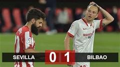 Kết quả Sevilla vs Bilbao: Thua phút 90, Sevilla lỡ cơ hội áp sát Barca và Real