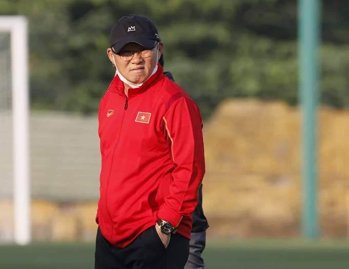 HLV Park Hang Seo đề cao sự an toàn khi gọi đa số cầu thủ lên tuyển Việt Nam là những gương mặt cũ
