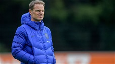 HLV ĐT Hà Lan tại EURO 2020: Frank de Boer