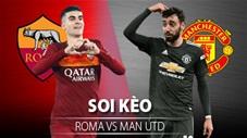 TỶ LỆ và dự đoán kết quả AS Roma vs MU