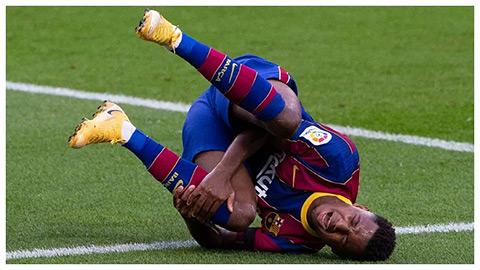 Ansu Fati cầu viện bác sỹ từng chữa trị cho Ronaldo