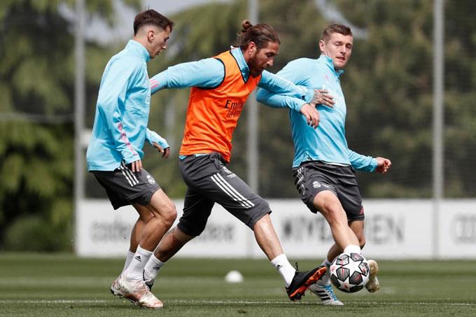 Ramos đã sẵn sàng trở lại