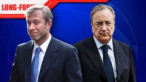 Chelsea vs Real: Hai cá tính Abramovich và Perez