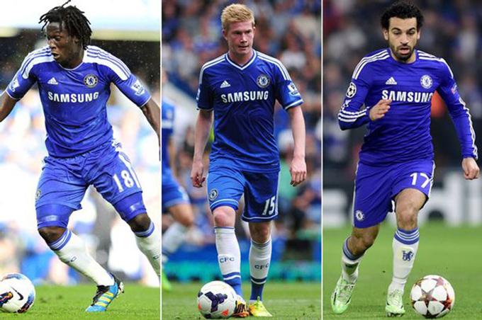 Lukaku, De Bruyne và Salah từng không được Chelsea coi trọng khi còn trẻ