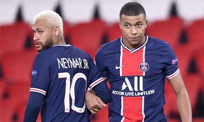 PSG đối diện giông bão: Không danh hiệu & mất Neymar - Mbappe?