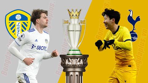18h30 ngày 8/5: Leeds United vs Tottenham