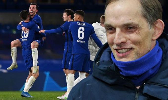 Tuchel đã biến Chelsea thành cỗ máy chiến thắng và vào chung kết FA Cup cùng Champions League