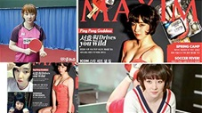 Vận động viên bóng bàn Hàn Quốc gây sốt vì quá xinh đẹp