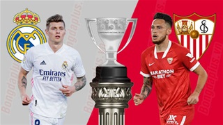 02h00 ngày 10/5, Real Madrid vs Sevilla