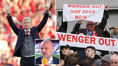 'Fan Arsenal có lẽ đang hối hận vì đối xử tệ với Wenger'