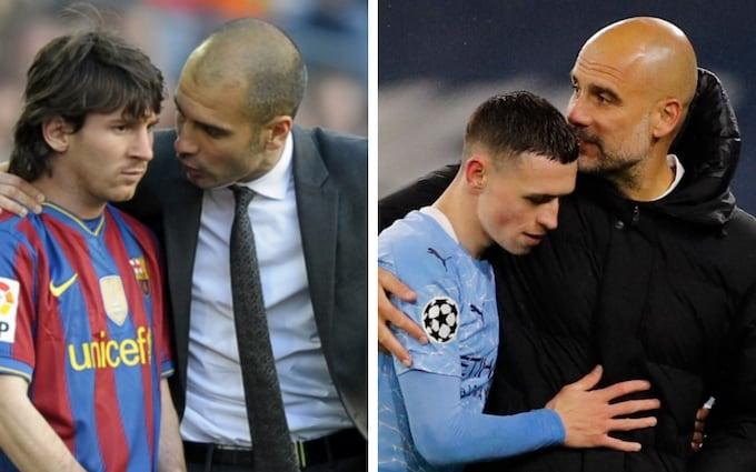 Pep Guardiola đã nhào nặn ra Messi, bây giờ đến Foden