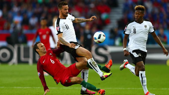 Carvalho thi đấu ở EURO 2016