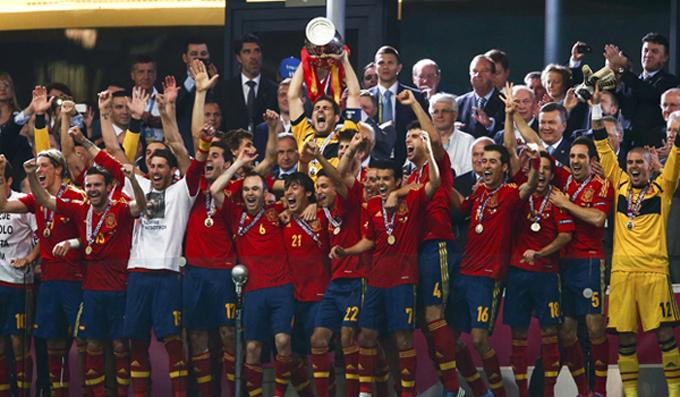 Tây Ban Nha vô địch EURO 2012 với thành tích bất bại