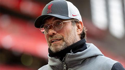 Klopp: 'Liverpool sẽ không khóc lóc như những đứa trẻ nếu mất suất dự Champions League'