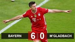 Kết quả Bayern Munich 6-0 MGladbach: Bayern mừng chức vô địch Bundesliga bằng cơn mưa bàn thắng
