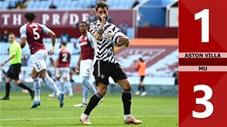 Aston Villa vs MU: 1-3, Bruno Fernandes khởi nguồn chiến thắng cho Quỷ đỏ