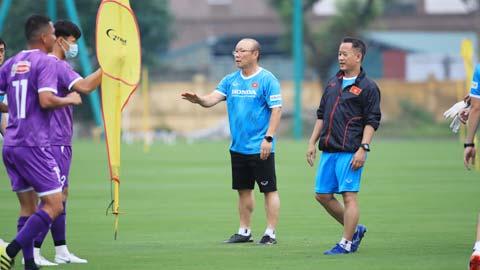 ĐT Việt Nam bắt đầu tập luyện: Tự tin hướng đến vòng loại World Cup 2022
