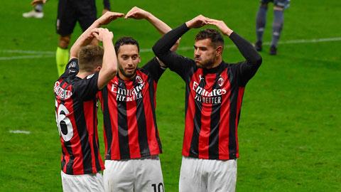 Milan vẫn là đội tiến bộ nhất