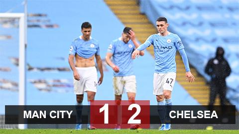 Kết quả Man City 1-2 Chelsea: Chưa thể đăng quang - xs thứ hai