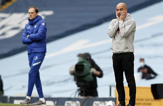 Guardiola học bài của Tuchel không thành công