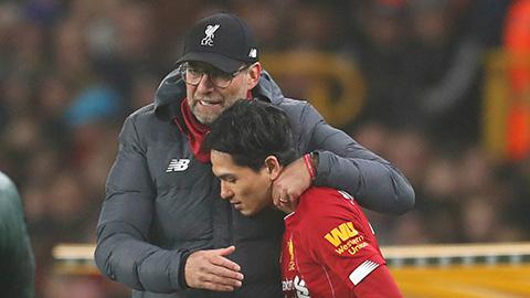 HLV Klopp đảm bảo tương lai của Minamino tại Liverpool