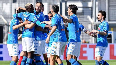 Vòng 35 Serie A: Inter Milan & Napoli thắng tưng bừng - xs thứ hai
