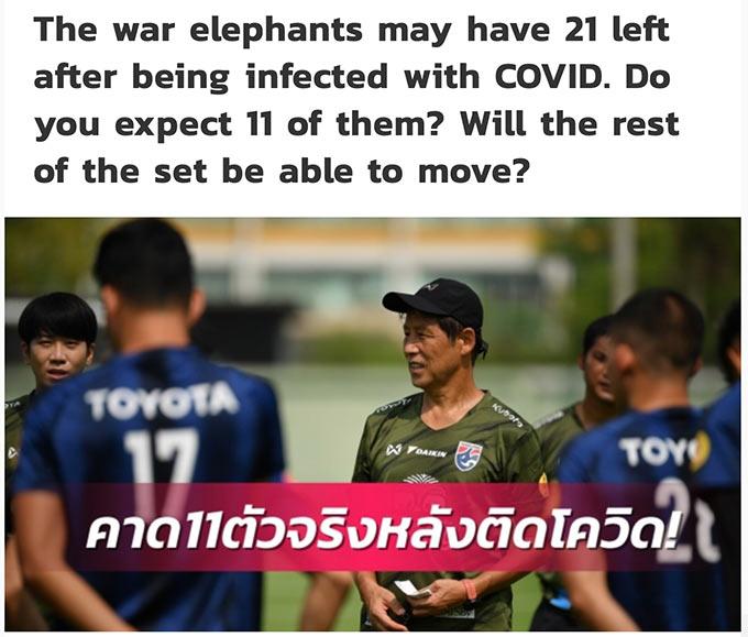 Trang Siam Sports đưa ra quan điểm xây dựng lực lượng mới cho ĐT Thái Lan