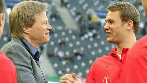 Neuer chạm tới siêu kỷ lục của Kahn
