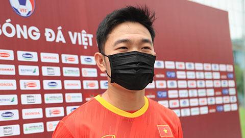 Xuân Trường: 'Cạnh tranh ở hàng tiền vệ tốt cho ĐT Việt Nam'