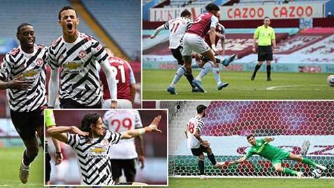 Điểm nhấn Aston Villa 1-3 MU: Quỷ đỏ xứng danh 'Vua ngược dòng'