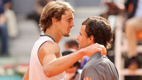 Báo thù Thiem, Zverev vào chung kết Madrid Open