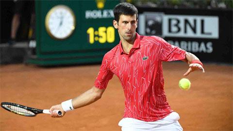 Nadal và Djokovic rơi vào nhánh khó ở Rome