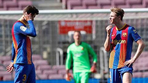 Barca thiếu bản lĩnh đại chiến