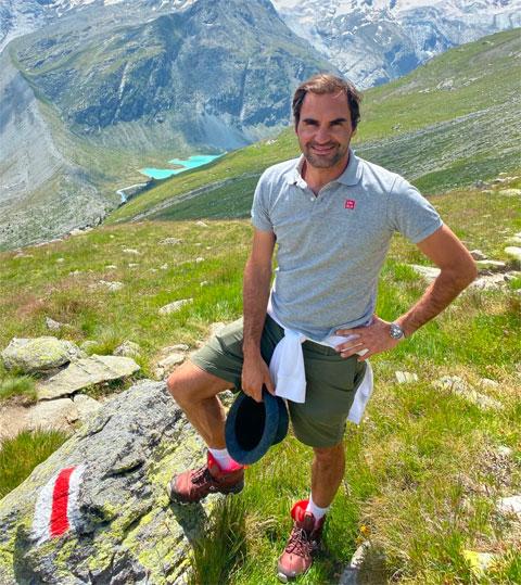Roger Federer giới thiệu về cung đường phượt ở thung lũng Engadine