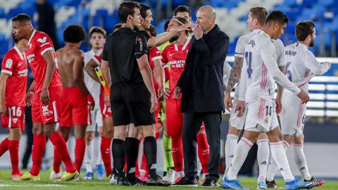 Zidane không thể giúp Real vươn lên đỉnh để tiên gần hơn tới chức vô địch