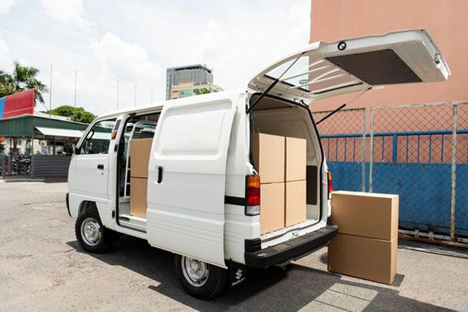 Khách hàng có thể sở hữu Super Carry Blind Van khi thanh toán trước chỉ từ 48,3 triệu đồng