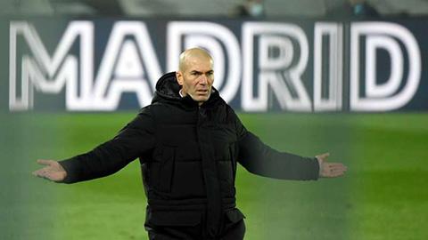 Zidane nổi giận với trọng tài vì quả penalty trong trận Sevilla