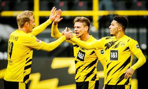 Chiến thắng nghẹt thở trước kình địch Leipzig mới đây giúp Dortmund giành quyền tự quyết tìm vé dự Champions League