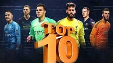 10 thủ môn xuất sắc nhất thế giới hiện tại
