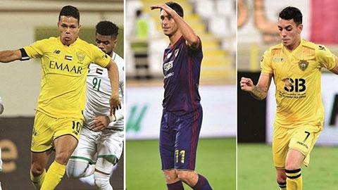 3 cầu thủ nhập tịch gốc Brazil, Argentina được UAE triệu tập đấu Việt Nam là ai?