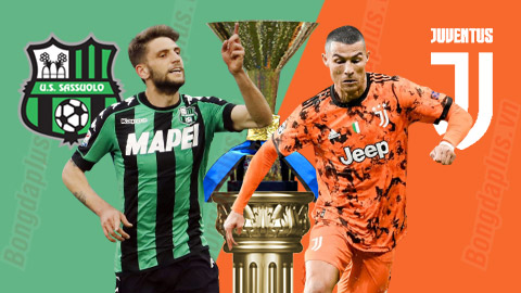 Soi kèo: Sassuolo vs Juventus, 01h45 ngày 13/5