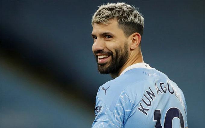Aguero đang chơi mùa giải cuối cùng cho Man City